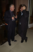 William Pye and Simon Russell Beale. Dancing To the Music of Time- The Life and Work of Anthony Powell. The Wallace Collection. Manchester Sq. London. November 2, 2005 in London,. ONE TIME USE ONLY - DO NOT ARCHIVE © Copyright Photograph by Dafydd Jones 66 Stockwell Park Rd. London SW9 0DA Tel 020 7733 0108 www.dafjones.com