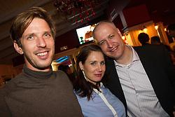 Party after Sporto 2012 Gala Dinner and Awards ceremony at sports marketing and sponsorship conference Sporto 2012, on November 26, 2012 in Hotel Slovenija, Congress centre, Portoroz / Portorose, Slovenia. (Photo By Vid Ponikvar / Sportida.com)