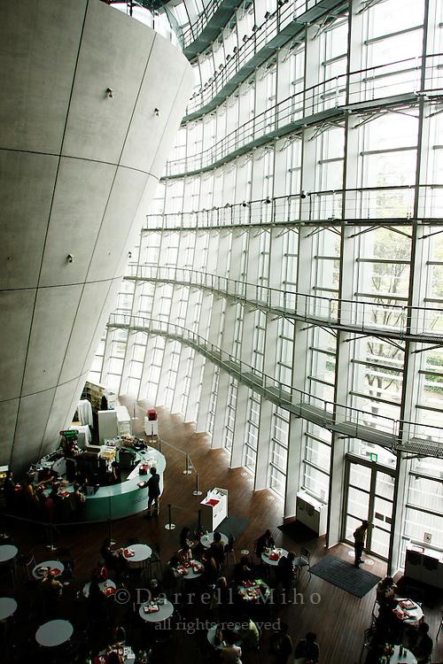 April 16, 2008; Tokyo, Japan - the National Art Center, Tokyo...Photo credit: Darrell Miho
