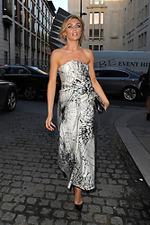 Model Abbey Clancy attends LFW: Giles - s/s 2014 catwalk show at Stationers Hall in London, UK. 16/09/2013<br />BYLINE MUST READ : GOTCHAIMAGES.COM<br /><br />Copyright by © Gotcha Images Ltd. All rights reserved.<br />Usage of this image is conditional upon the acceptance <br />of Gotcha Images Ltd, terms and conditions available at<br />www.gotchaimages.com