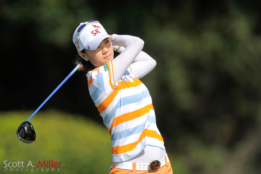 Na Yeon Choi during the second round of the CME Group Titleholders at Grand Cypress Resort on Nov. 18, 2011 in Orlando, Fla.  ..©2011 Scott A. Miller