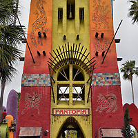 Gateway to Pantopia at Busch Gardens in Tampa, Florida <br />