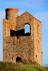 UK CORNWALL ST IVES 10JUN08 - Ruin of an old tin mine near St Ives in Cornwall, western England...jre/Photo by Jiri Rezac / WWF UK..© Jiri Rezac 2008..Contact: +44 (0) 7050 110 417.Mobile:  +44 (0) 7801 337 683.Office:  +44 (0) 20 8968 9635..Email:   jiri@jirirezac.com.Web:    www.jirirezac.com..© All images Jiri Rezac 2008 - All rights reserved.