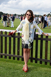 MELIA KREILING at the Audi International Polo at Guards Polo Windsor Great Park, Egham, Surrey on 28th July 2013.