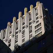 Art deco building, NYC