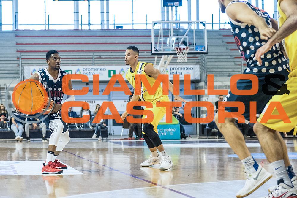Alex Legion<br /> U.S. Basket Recanati - Kontatto Fortitudo Basket Bologna<br /> Lega Nazionale Pallacanestro 2016/2017<br /> Recanati 09/04/2017<br /> Foto Ciamillo-Castoria