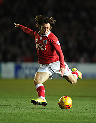Bristol City's Luke Freeman Shoots  - Photo mandatory by-line: Joe Meredith/JMP - Mobile: 07966 386802 - 10/02/2015 - SPORT - Football - Bristol - Ashton Gate - Bristol City v Port Vale - Sky Bet League One