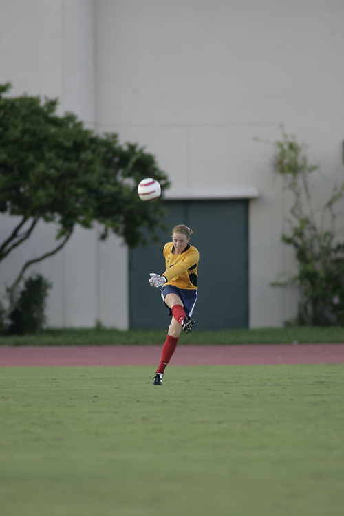 FAU WOMEN'S SOCCER @ Miami, September 2, 2005.