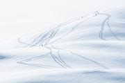 Schneeschuhspuren am Erzegg<br /> <br /> Lots of snowshoe trails
