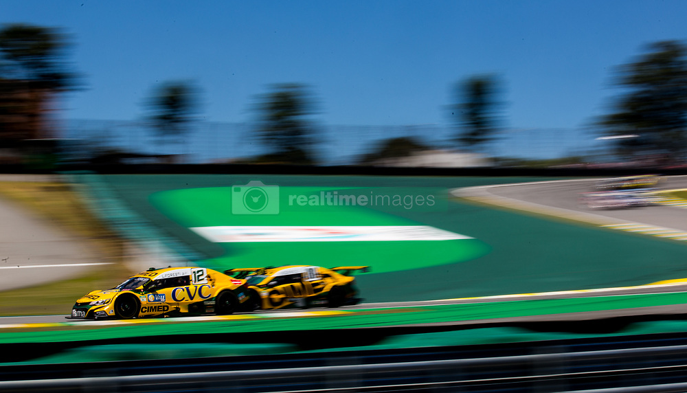 December 9, 2018 - Sao Paulo, Sao Paulo, Brazil - Nov, 2018 - #12 LUCAS FORESTI of Cimed Chevrolet Racing Team during the final stage of the 2018 championship of the Brazilian Stock Car, at Interlagos circuit, in Sao Paulo, Brazil. (Credit Image: © Paulo Lopes via ZUMA Wire) (Credit Image: © Paulo Lopes/ZUMA Wire)