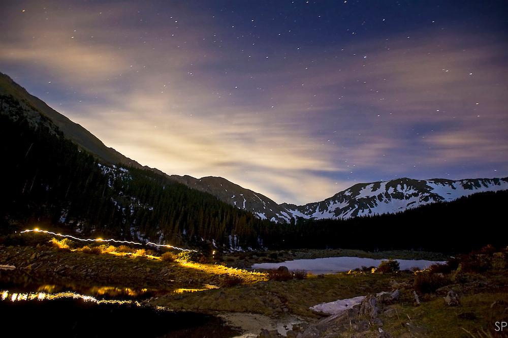 Wheeler Peak and Williams Lake, Taos NM