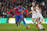 Crystal Palace v Burnley