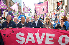 SEP 29 2013 TUC March at Conservative Conference