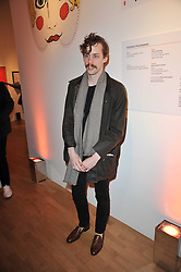 JOHNNY BORRELL at the TOD'S Art Plus Drama Party at the Whitechapel Gallery, London on 24th March 2011.