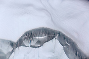 Jan 18, 2017 - Crystal Sound, Antarctic Peninsula, Antarctica - Icicles hang from an iceberg floating in Crystal Sound along the Antarctic Peninsula.<br />  ©Ann Inger Johansson/zReportage/Exclusivexpix media