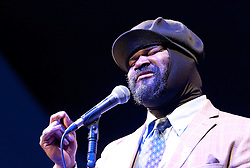 Cheltenham Jazz Festival, Cheltenham, United Kingdom, Gregory Porter, performs in the Big Top at Cheltenham Music Festival, Saturday 04 May, 2013, Photo by: i-Images