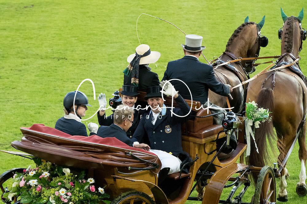 Honour coaches<br /> Opening Ceremony<br /> CHIO Aachen 2016<br /> &copy; Hippo Foto - Dirk Caremans<br /> 12/07/16