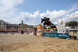 WINKELMANN Rupert Carl (GER), DOTS & DASHES<br /> Münster - Turnier der Sieger 2019<br /> Preis des EINRICHTUNGSHAUS OSTERMANN, WITTEN<br /> CSI4* - Int. Jumping competition  (1.45 m) - <br /> 1. Qualifikation Mittlere Tour<br /> Medium Tour<br /> 02. August 2019<br /> © www.sportfotos-lafrentz.de/Stefan Lafrentz