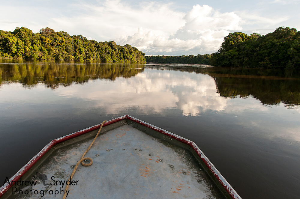 Travel along the Essequibo River.
