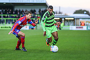 Forest Green Rovers Dan Wishart(17) runs forward during the Vanarama National League match between Forest Green Rovers and Aldershot Town at the New Lawn, Forest Green, United Kingdom on 5 November 2016. Photo by Shane Healey.