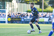 Leeds United midfielder Mateusz Klich (6) in action during the Pre-Season Friendly match between Guiseley  and Leeds United at Nethermoor Park, Guiseley, United Kingdom on 11 July 2019.