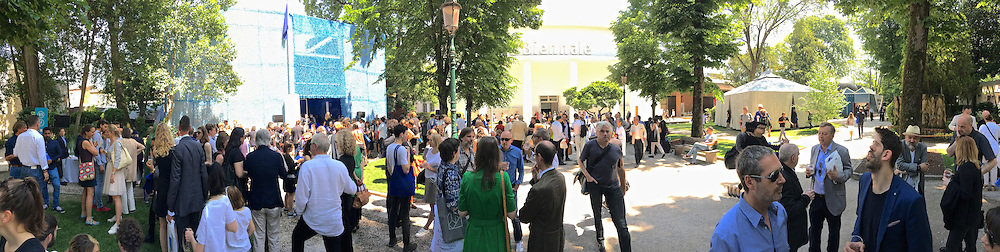 """Venice, Italy - 15th Architecture Biennale 2016, """"Reporting from the Front"""".<br /> Giardini."""
