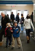 Girls Hockey Concord versus Bishop Guertin at Everett Arena December 17, 2011.  (Karen Bobotas/for the Concord Monitor)
