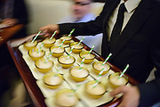 Photo by Matt Roth<br /> Assignment ID: 30148071A<br /> <br /> Cups of sorbet were served at the wedding reception of David Hagedorn, a chef and food writer, and Michael Widomski, held at Fiola in Washington, DC, Sunday, September 22, 2013.