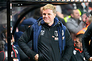 AFC Bournemouth manager Eddie Howe before the EFL Cup 4th round match between Bournemouth and Norwich City at the Vitality Stadium, Bournemouth, England on 30 October 2018.