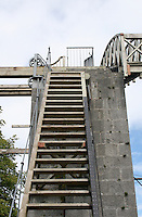 "Ladder up to the Great 72"" Telescope built by Lord Rosse in the 1840's at Birr Castle County Offaly Ireland"