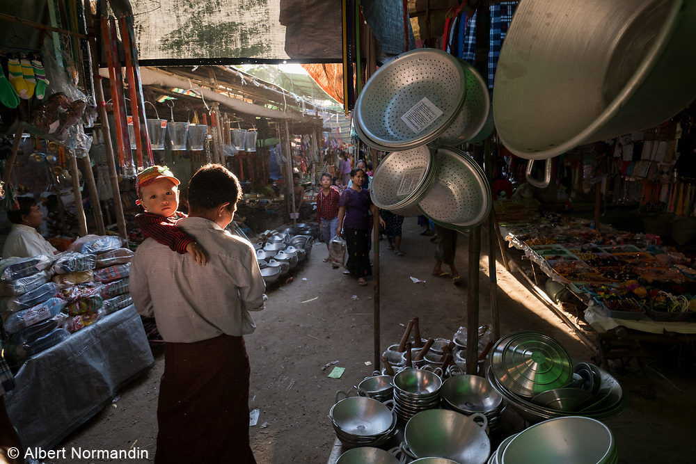 Festival outside of Monywa, Myanmar