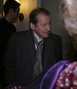Lucian Freud, Opening of an exhibition of watercolours by David Hockney. Midsummer: East Yorkshire 2004, Gilbert Collection. Somerset House. 16  November 2005 . ONE TIME USE ONLY - DO NOT ARCHIVE © Copyright Photograph by Dafydd Jones 66 Stockwell Park Rd. London SW9 0DA Tel 020 7733 0108 www.dafjones.com