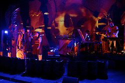 Award-winning composer and Lau's visionary accordionist Martin Green brings together Portishead's Adrian Utley, Mogwai's Dominic Aitchison, Becky Unthank from The Unthanks and Edinburgh-born folk singer-songwriter Adam Holmes, with BAFTA-winning animators whiterobot (Will Anderson and Ainslie Henderson) for this extraordinary new show. Edinburgh International Conference Centre, 10th August 2016(c) Brian Anderson | Edinburgh Elite media