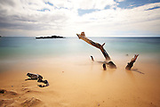 Long exposure at Hapuna Beach State Park, Hawaii Island, 2013.