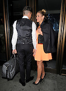 07.FEBRUARY.2013. LONDON<br /> <br /> SAM FAIERS AND JOEY ESSEX LEAVE THE MAYFAIR HOTEL IN MAYFAIR, LONDON, UK.<br /> <br /> BYLINE: EDBIMAGEARCHIVE.CO.UK<br /> <br /> *THIS IMAGE IS STRICTLY FOR UK NEWSPAPERS AND MAGAZINES ONLY*<br /> *FOR WORLD WIDE SALES AND WEB USE PLEASE CONTACT EDBIMAGEARCHIVE - 0208 954 5968*