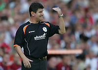 Photo: Lee Earle.<br /> Charlton Athletic v Sheffield Wednesday. Coca Cola Championship. 25/08/2007.Wednesday manager Brian Laws.