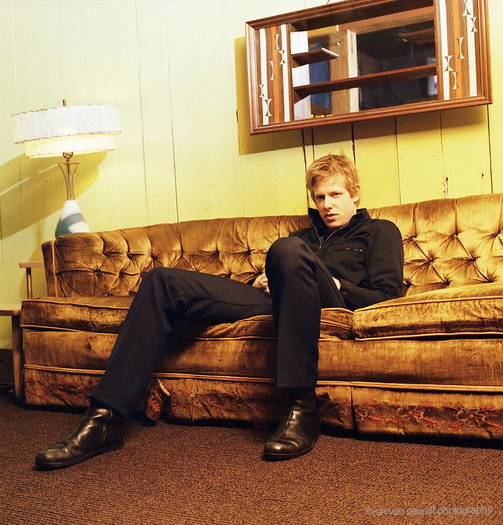 Britt Daniel of the band Spoon in Austin, Texas. 2005