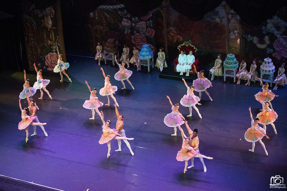 Bay Pointe Ballet performs the Nutcracker at the Grand Sierra Resort and Casino in Reno, Nevada, during their Reno tour on December 7, 2013. (Stan Olszewski/SOSKIphoto)