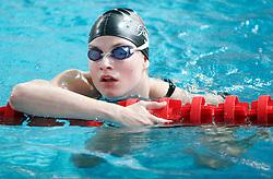 Sara Isakovic of Slovenia at international swimming meeting Siol 2005, on June 5, 2005, Kranj Swimming pool, Kranj, Slovenia.  (Photo by Vid Ponikvar / Sportida)