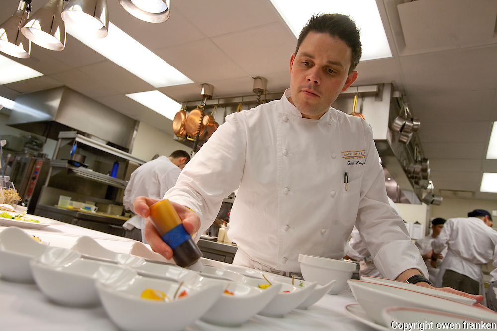 .the kitchen of Cafe Boulud, NYC...Chef Gavin Kaysen