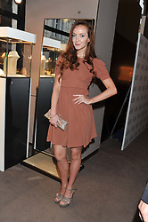 OLIVIA GRANT at the launch party for Spectator Life hosted by Andrew Neil at Asprey, 167 New Bond Street, London on 28th March 2012.