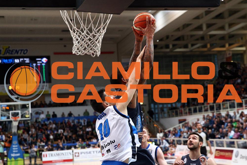 Gomes Joao<br /> Dolomiti Energia Trentino vs Germani Basket Brescia<br /> Lega Basket Serie A 2016/2017<br /> Trento, 23/04/2017<br /> Foto Ciamillo-Castoria/A. Gilardi