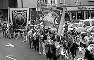 Maltby Branch Banner. 1994 Yorkshire Miners Gala. Doncaster.