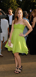 """LIZ GOLDWYN (descendant of the """"G"""" in MGM) interviewed at the annual Serpentine Gallery Summer Party in association with Swarovski held at the gallery, Kensington Gardens, London on 11th July 2007.<br /><br />NON EXCLUSIVE - WORLD RIGHTS"""