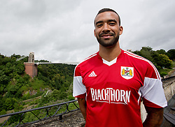 Liam Fontaine of Bristol City - Photo mandatory by-line: Kieran McManus/JMP - Tel: Mobile: 07966 386802 31/07/2013 - SPORT - FOOTBALL - Avon Gorge Hotel - Clifton Suspension bridge - Bristol -  Team Photo