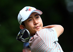 May 25, 2017 - Virginia Water, United Kingdom - Soomin Lee KOR during 1st Round for the 2017 BMW PGA Championship on the west Course at Wentworth on May 25, 2017 in Virginia Water,England  (Credit Image: © Kieran Galvin/NurPhoto via ZUMA Press)