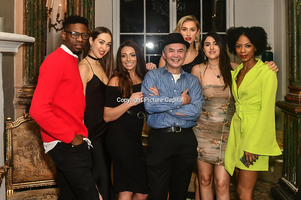 See Li stolen Alex five Bachelor girls - Chloe Adlerstein, Lois Bowden, See Li, Lilly Douse, Claudia Sowaha and Tonique Campbell is a contestant attend The Bachelor UK 2019 launch night - The girls private screening on Channel 5 at Beach Blanket Babylon on 4 March 2019, London, UK