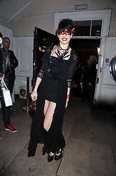 DAISY LOWE at a Halloween party hosted by Alexa Chung and Browns Focus held at the House of St.Barnabas, 1 Greek Street, London on 31st October 2008.