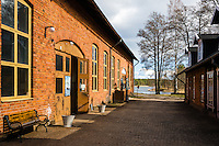 Sweden, Karlsborg. Old factory in Forsvik.