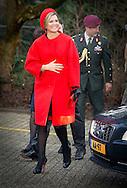 3-2-2015 GOIRLE -  Queen Máxima is Tuesday February 3 present at the presentation of the 'Central Child' award from Foundation The Forgotten Child location Kompaan and The Curve in Goirle. COPYRIGHT ROBIN UTRECHT 3-2-2015 GOIRLE - Koningin Máxima is dinsdagmorgen 3 februari aanwezig bij de uitreiking van de 'Kind Centraal' award van Stichting Het Vergeten Kind aan opvanglocatie Kompaan en De Bocht in Goirle. COPYRIGHT ROBIN UTRECHT